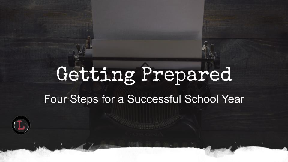 Four steps to prepare for a successful school year